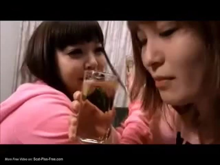 Piss Assorti – Two Japanese Lesbian Girls Indulge In Piss Drinking