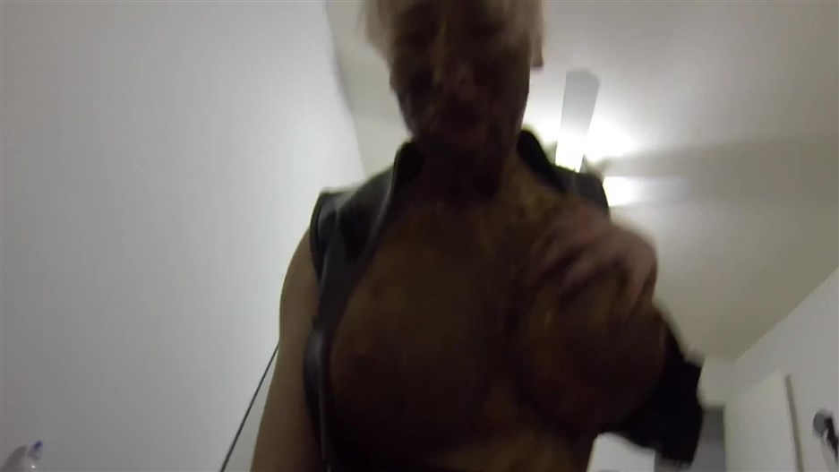 POV fucking while COVERED in shit FULL HD 1080p